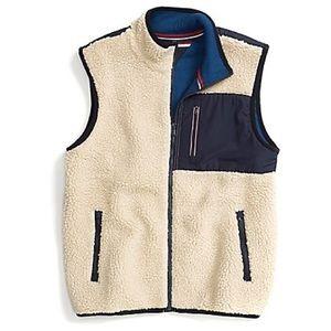 Tommy Hilfiger Full-Zip Sherpa Fleece Vest